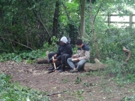 Knights Hill Wood Capital Clean Up Day 27-6-16 Lambeth Nature conservation Home education free activity